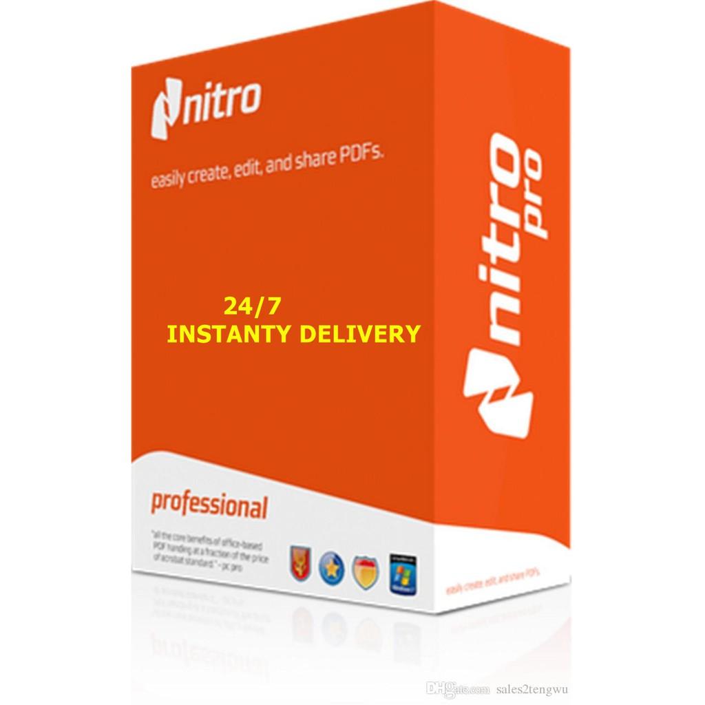 Nitro Pro 13.38.1 Crack + Activation Key Full (64/32-bit) Download